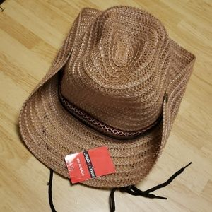 NWT Sassy & Chic Cowboy Hat